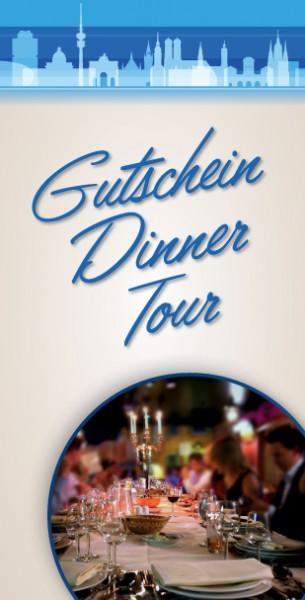 Gutschein Dinner-Tour München - das ideale Geschenk